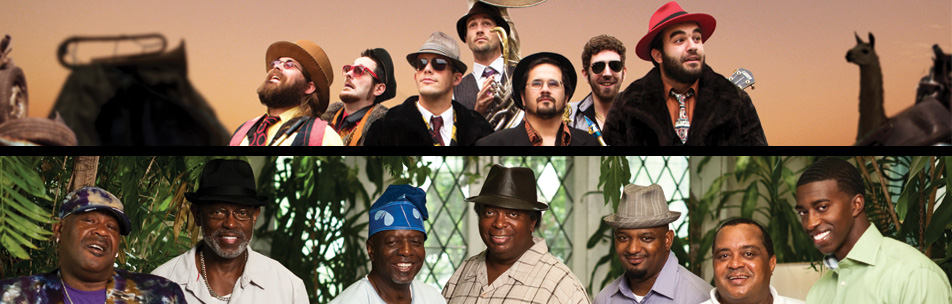 The Dirty Dozen Brass Band + Boa Brass Band